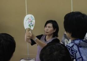 【2013ワークショップ】江戸より続く伝統工芸 うちわ作り体験のご報告
