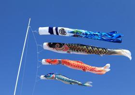 """大空を優雅に泳ぐ鯉のぼり! ところで端午の節句は、なぜ""""鯉のぼり"""" なの?"""