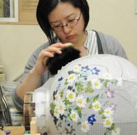 伝統工芸士認定の4女性、技術受け継ぐ 岐阜提灯