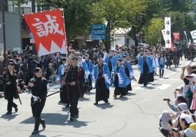 会津まつり:会津藩公行列に声援 18万3000人来場