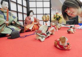 秋にも飾る雛人形 老舗「久月」が所蔵品公開