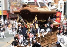 「ソーリャ、ソーリャ」だんじり岸和田を疾走!! 大阪・泉州に祭りの秋到来
