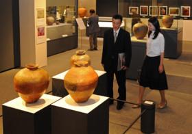 古信楽の名品、変遷たどる 滋賀・陶芸の森で特別展
