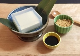 【メニュー紹介】玲瓏豆腐…? ~10/25(日)1day江戸料理体験&試食交流会~