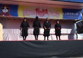 上野恩賜公園が忍者一色に染まる3日間~『伊賀上野NINJAフェスタ in 上野恩賜公園』が開催