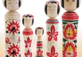 全国こけしまつり入賞作品の展示や絵付け体験も。横浜人形の家にて『鳴子こけしまつり』を開催!