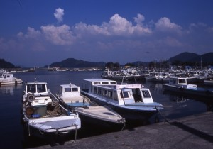 沖島・漁港