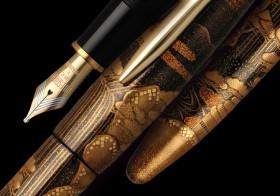 最高級万年筆シリーズを25年ぶりに刷新。日本が世界に誇る伝統工芸「加賀蒔絵」を施した軸4柄を新発売。