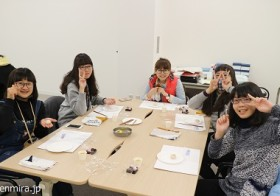 でんみらのインバウンド対応:台湾からのお客様<和菓子作り体験> / denmira blog