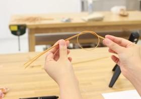 大分と東京を行き来する若手 竹細工職人 清水貴之先生に習う 竹で作る季節を彩るオーナメント / denmira blog