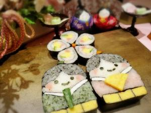 飾り巻き寿司01