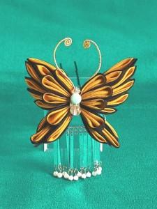 揚羽蝶のかんざし