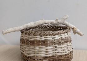 \ご参加者募集中/【ル・コーゲイ】沖縄に自生する蔓植物クージを編んで、パンかごを作り